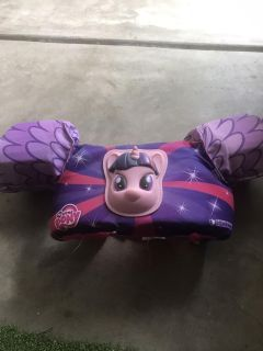 My little pony puddle jumper