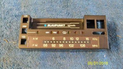 Find Blaupunkt Radio Face Plate Nose Piece Bezel CR2000 AM FM Cassette 1980 motorcycle in Portland, Oregon, United States, for US $10.00