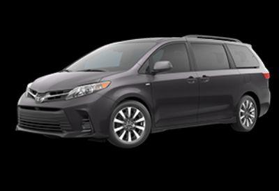2020 Toyota Sienna LE (Predawn Gray Mica)