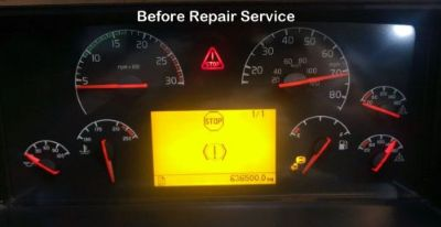 Sell REPAIR SERVICE VOLVO VN VNL Semi Gauge Cluster Speedometer Instrument Panel motorcycle in Racine, Wisconsin, United States, for US $169.99