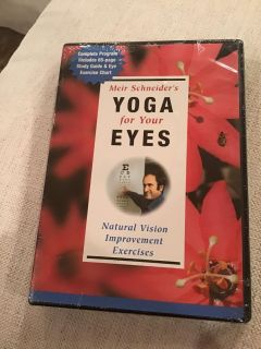 Factory sealed Yoga for Your Eyes - Natural Vision Improvement Exercises DVD
