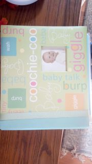 Baby scrapbook with paper 8x8 size