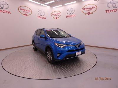 2017 Toyota RAV4 XLE (Blazing Blue)