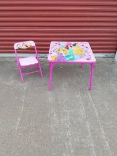 Kids Folding Table And Folding Chair
