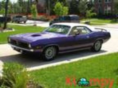 1970 Plymouth Barracuda MATCHING