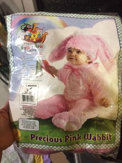 New 6-12 month bunny costume