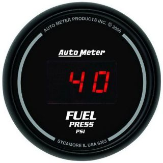 Sell Auto Meter 6363 Sport-Comp; Digital Fuel Pressure Gauge motorcycle in Rigby, Idaho, United States, for US $277.95