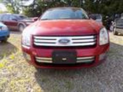 2009 Ford Fusion V6 SEL Red,