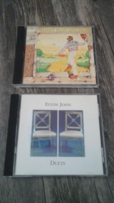 2 Elton John CD's. .Both for $2.00