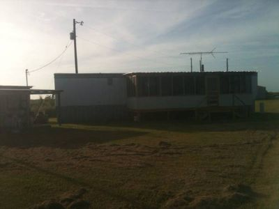 For Sale Matagorda Tx half acre wMobile Home 2 bedrooms 1 Bath by inter coastal (13 Cooks C Rd)