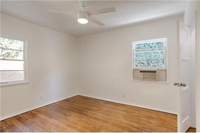 2 bedrooms - ready to move in.