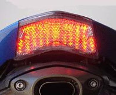 Buy 05-06 ZX-6R/636, 06-07 ZX-10R, 05-06 Z750S Integrated Tail Light Clear Kawasaki motorcycle in San Diego, California, US, for US $29.95