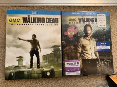 Walking Dead - S3 & S4 - Blu Ray