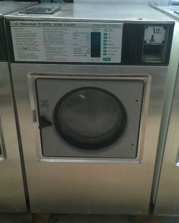 High Quality Wascomat Front Load Washer W125 ES 220v 60Hz 3PH USED
