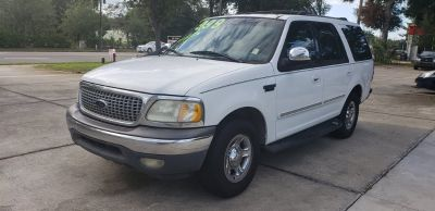 2000 Ford Expedition XLT (White)