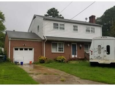 4 Bed 1.5 Bath Foreclosure Property in Newport News, VA 23606 - Middlesex Rd
