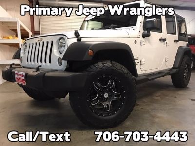 2015 Jeep Wrangler Unlimited 4x4 Leathe (White)