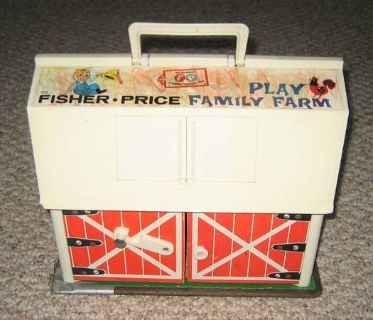 VINTAGE Fisher Price Toy Lot - READ DESCRIPTION