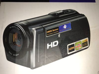 Hand held video camcorder