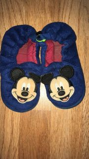 Mickey Mouse slippers size 9