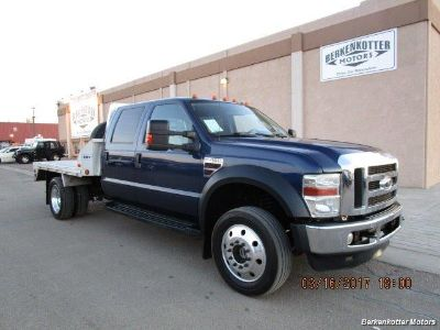 2008 Ford F-450 Crew Cab Flatbed (Blue)