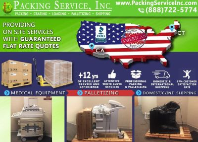 Packing Service, Inc. Cargo Shipping and Moving Quotes - Las Vegas, Nevada