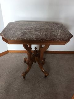 Antique Solid Cherry Table