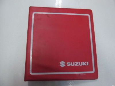 Purchase 1990 2005 Suzuki LT160E Service Repair Manual BINDER STAINED FACTORY OEM *** motorcycle in Sterling Heights, Michigan, United States, for US $59.95