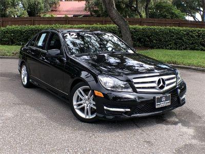 2012 Mercedes-Benz C-Class C300 4MATIC Sport (black)