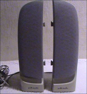 Polk Audio Computer Speakers 5065 Very Good Cond.