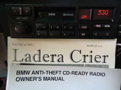Find Radio BMW E34 refurbished, my best collection all works, 17 pins, AM FM Weather motorcycle in Fremont, California, US, for US $160.00
