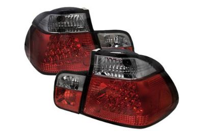 Purchase Spyder BE46994DRS 3-Series Smoke Euro Tail Lights Rear Stop Lamps w LEDs motorcycle in Rowland Heights, California, US, for US $223.86