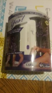 Finishing Touch rechargeable Yes! All-over hair remover