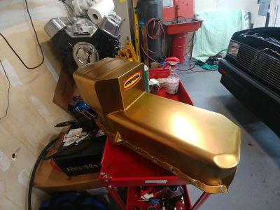 Milodon S10 swap oil pan sbc part # 31080