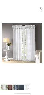 Curtains and valance - brand new -