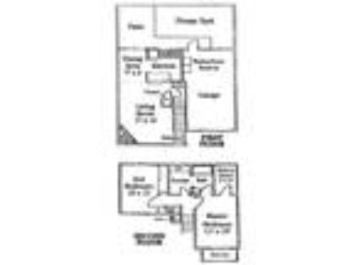 Fox Hollow Village Townhomes - Two Story Townhome with Patio