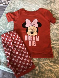 Old navy Minnie Mouse pjs 4t