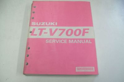 Purchase SUZUKI ATV DEALER TECHNICAL SHOP SERVICE MANUAL LT-V700F TWIN PEAKS 4X4 motorcycle in Sunbury, Pennsylvania, United States, for US $59.95