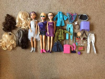 Liv Dolls with accessories