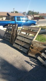 FREE Pallets & Folding Chairs