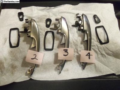 Door handles and seals