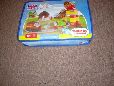 Thomas the train block set with trains