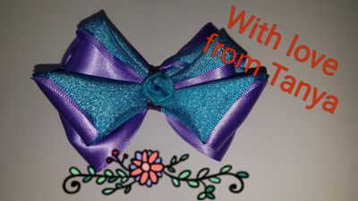 Hair clips for children hand made