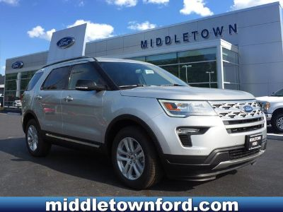 2018 Ford Explorer XLT (Ing Silver)