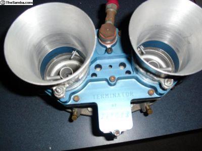 Single Jaycee 62mm Terminator Carb