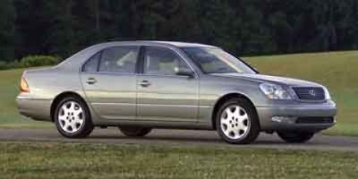 2001 Lexus LS 430 Base (Silver)