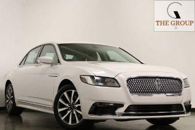 2017 Lincoln Continental Premiere (White)