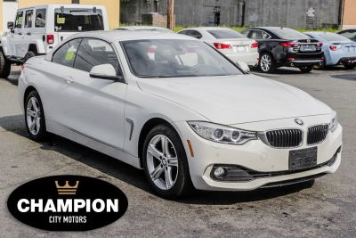 2015 BMW 4 Series 2dr Conv 428i xDrive AWD SULEV (Alpine White)