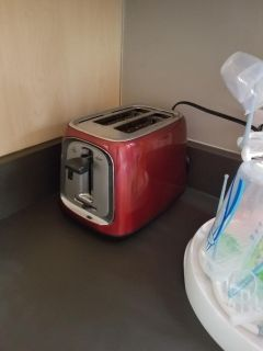 Red Oster Toaster