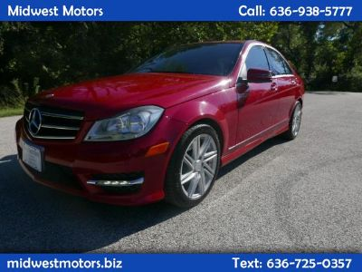 2014 Mercedes-Benz C-Class C300 4MATIC Luxury (Red)